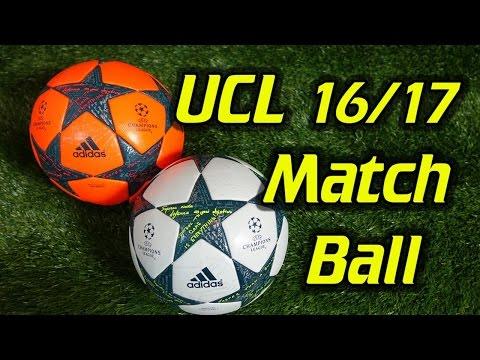 Adidas Finale 17 Champions League Match Ball & Winter Ball Review
