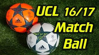 Adidas Finale 17 Champions League Match Ball & Winter Ball Review