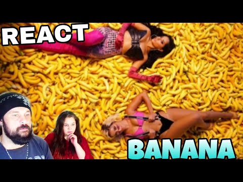 REAGINDO:  ANITTA & BECKY G - BANANA REACT