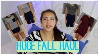 HUGE Fall/Winter Haul: Part 1 (Brandy Melville, Forever21, Tillys) Thumbnail