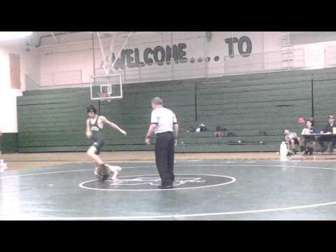Levi Bishop wrestling valley point middle school
