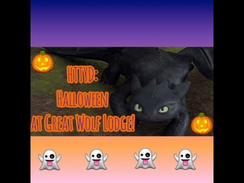 Toothless's Trips: Great Wold Lodge At Halloween! 🎃🐺🎃