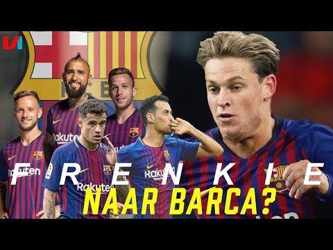 Voor Welke Topclub Moet Frenkie De Jong Kiezen? #3: FC BARCELONA