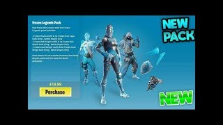 How To Get The *NEW* Frozen Legend Pack Early!!  // 400+ Wins  // Join my Scrim Discord