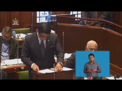 Fijian Attorney-General's Ministerial Statement, World Bank and IMF Meetings on Climate Change
