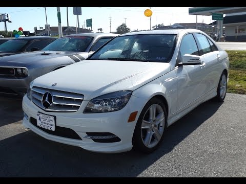 2011 Mercedes Benz C300 4Matic 3.0L V6 Start Up, Tour, and Review