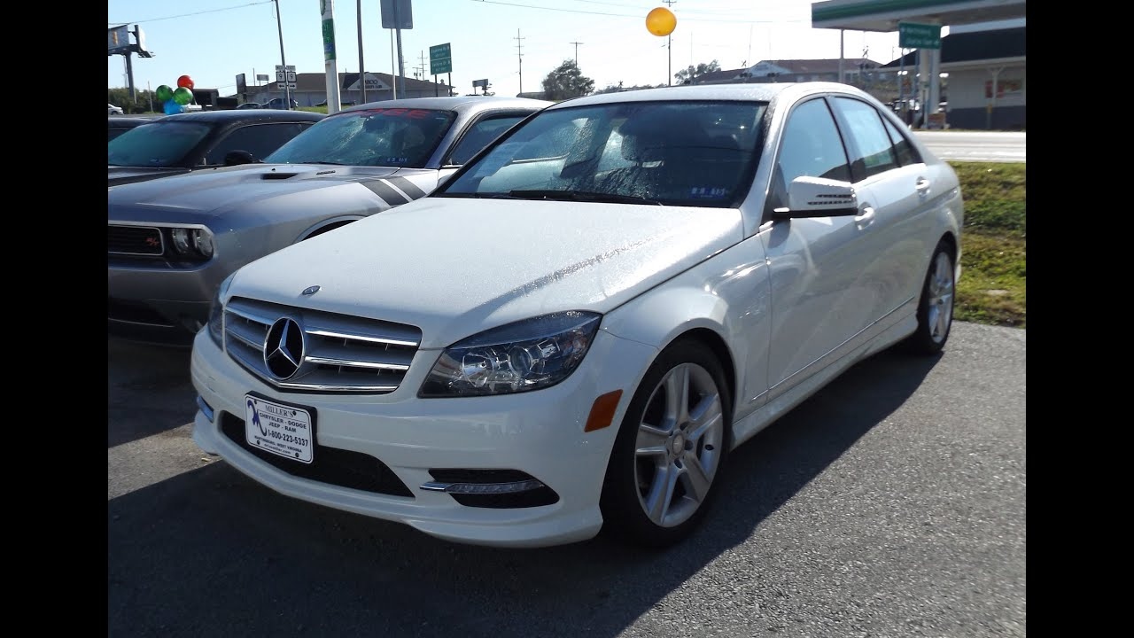 2011 mercedes benz c300 4matic 3 0l v6 start up tour and for Mercedes benz v6