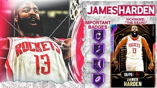 *FREE* GALAXY OPAL JAMES HARDEN GAMEPLAY! 65+ HOUR GRIND... WORTH IT? NBA 2k20 MyTEAM