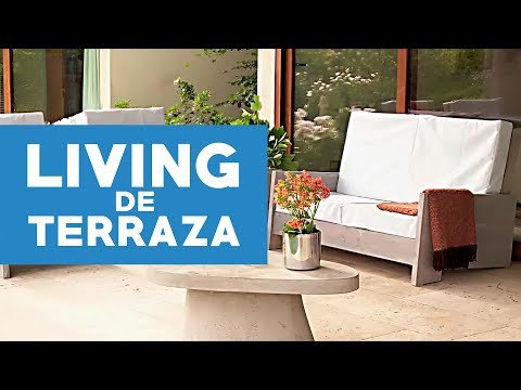 Cómo Construir Un Living De Terraza Youtube