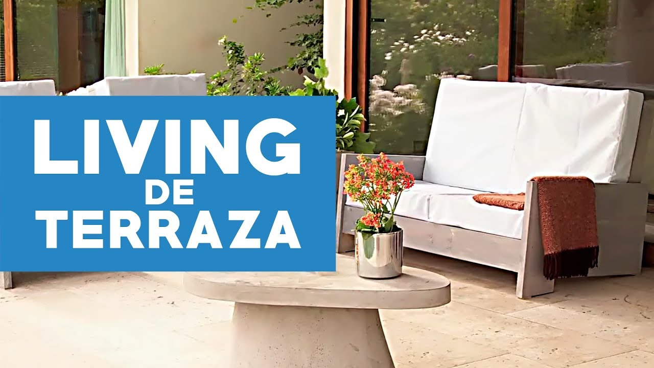 c mo construir un living de terraza youtube