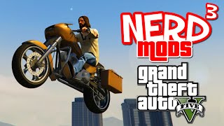 Nerd³ Mods... GTA V - Christ on a Bike