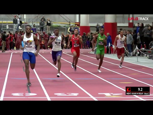Throwback: Big 12 Indoor Championships 4x400m Final