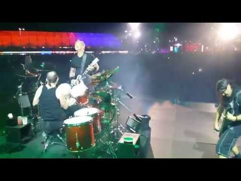 Cyanide Stage Palco Metallica live rock in Rio Brasil 2015
