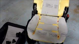 Volvo C30, Seat Skin Removal