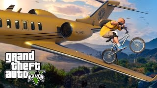 AWESOME GTA 5 BMX STUNTS (GTA 5 Stunts)