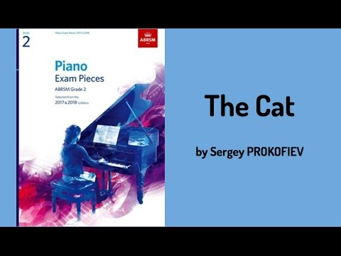 PROKOFIEV arr,Blackwell, The Cat, from 'Peter and the Wolf', op.67