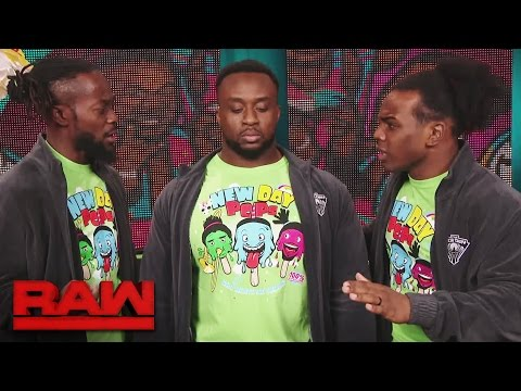 The New Day have much to discuss this week: Raw, March 20, 2017