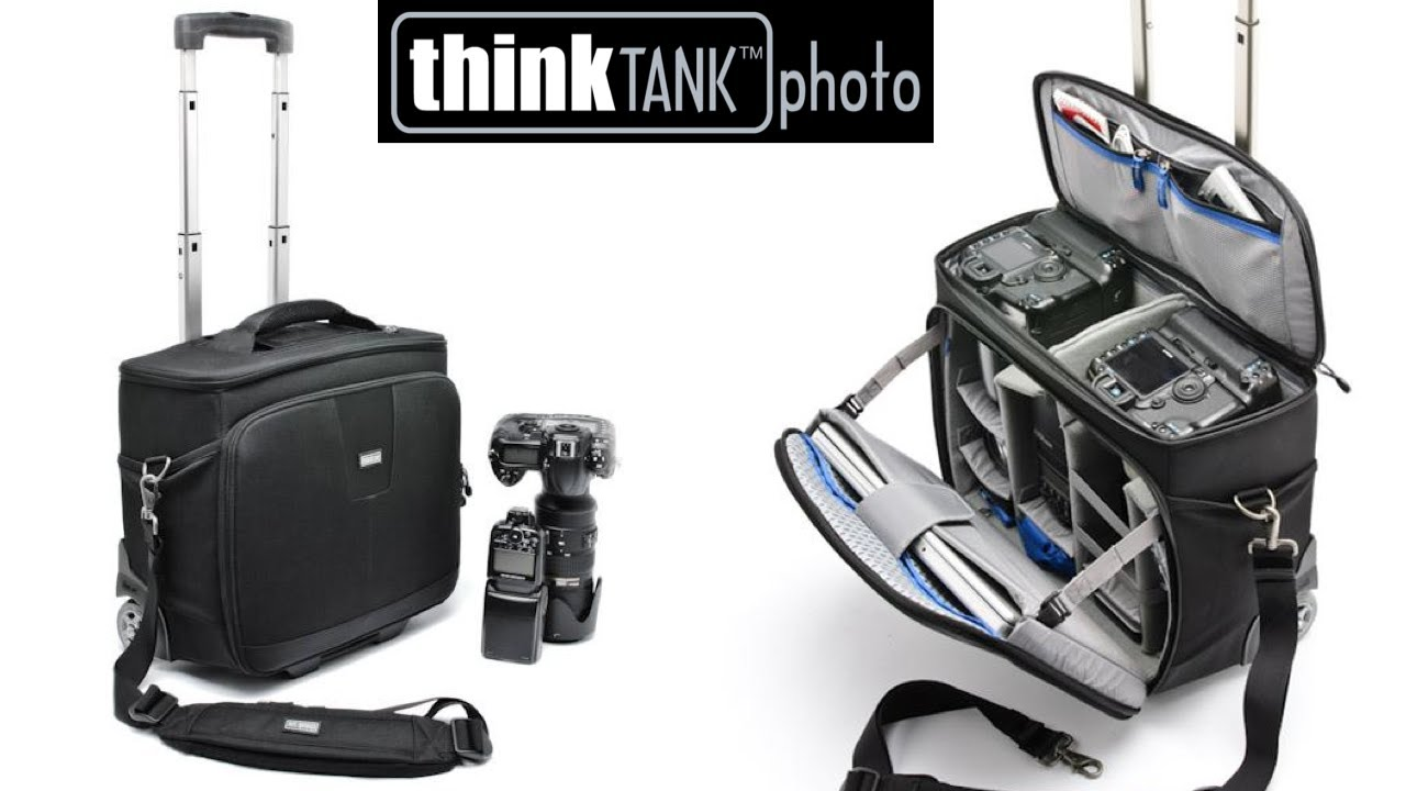 Airport Navigator rolling camera bag - Think Tank Photo - YouTube