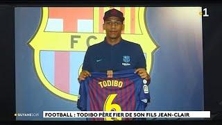 Football : Todibo père fier de son fils Jean - Clair