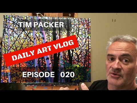 Adding the Blues - Daily Art Vlog - Episode 20