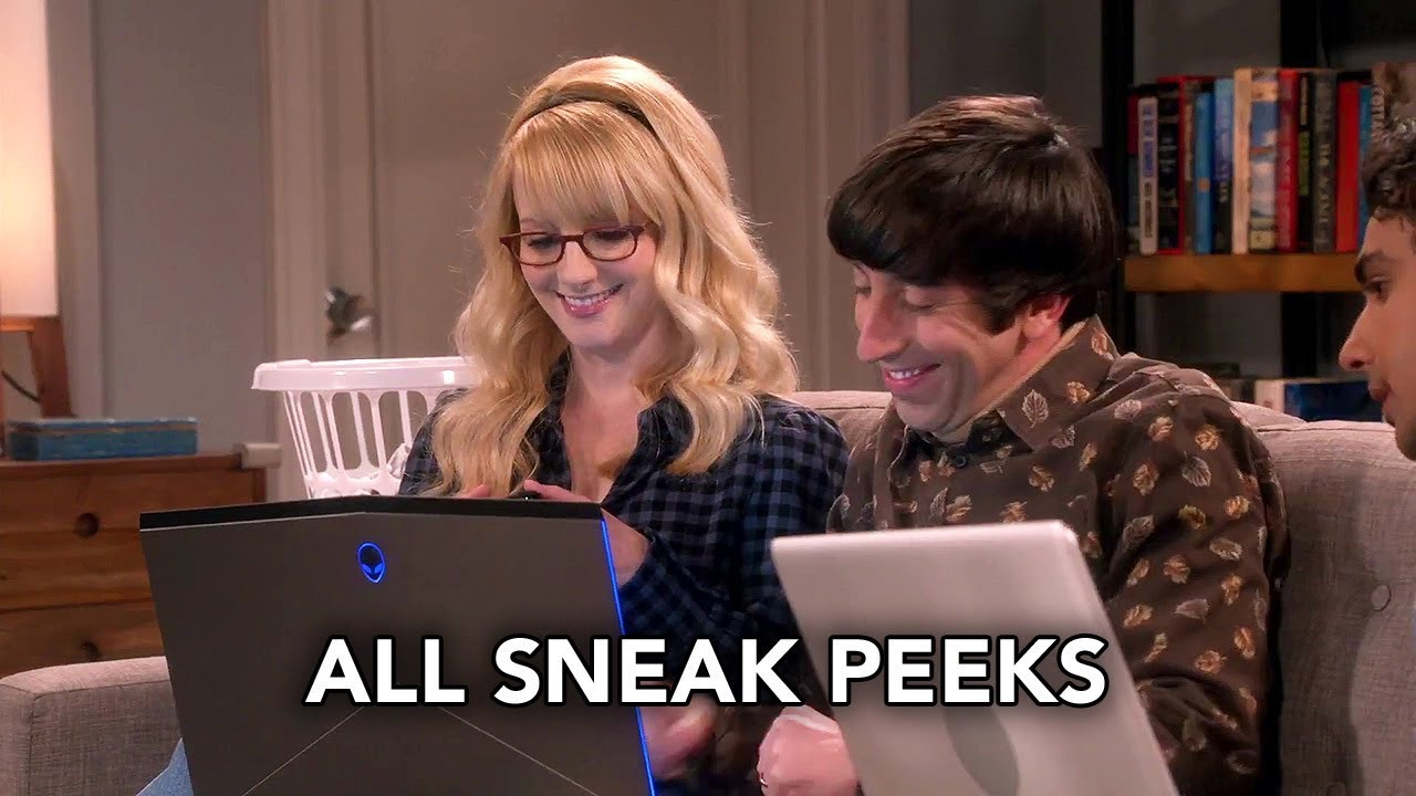 "The Big Bang Theory 12x09 All Sneak Peeks ""The Citation Negation"" (HD)"