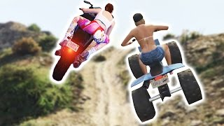 I ALMOST TOUCHED HER BUTT!! (GTA 5 Funny Moments)