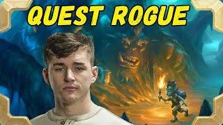 Firebat plays a bit forgotten Quest rogue deck (Kobolds and Catacombs)