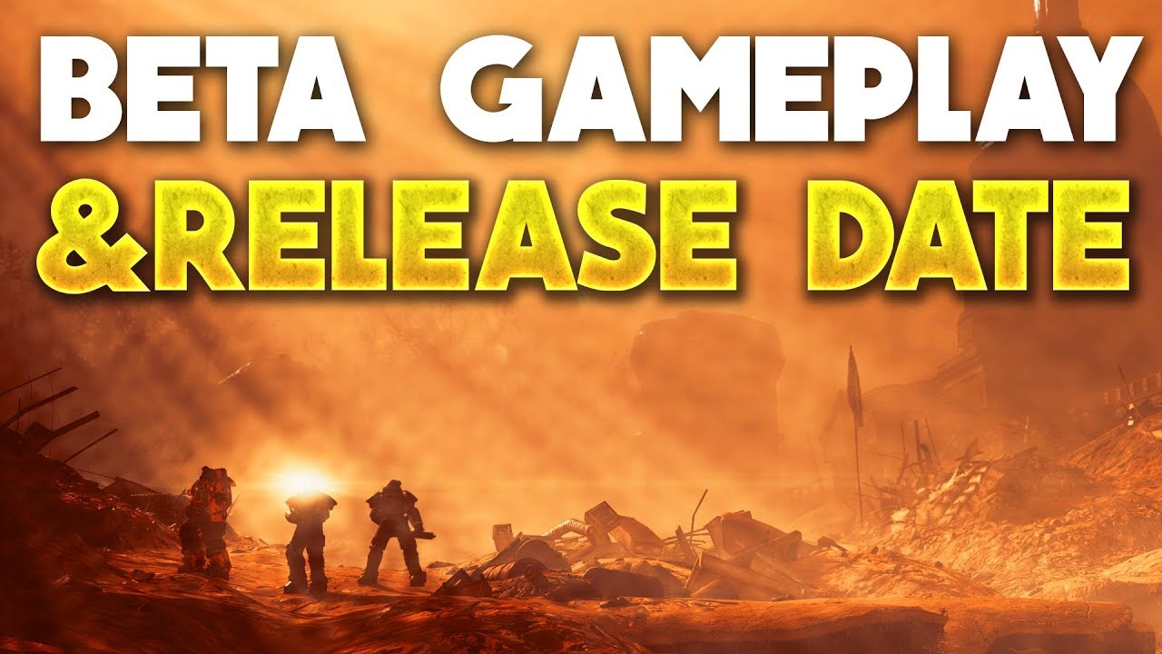 Fallout 76 - beta, E3 gameplay trailer, release date, online features, setting ...