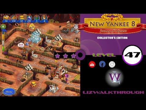 New Yankee 8 - Level 47 Walkthrough (Journey of Odysseus) |