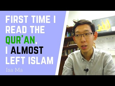 First Time I Read The Qu'ran, I ALMOST Left Islam