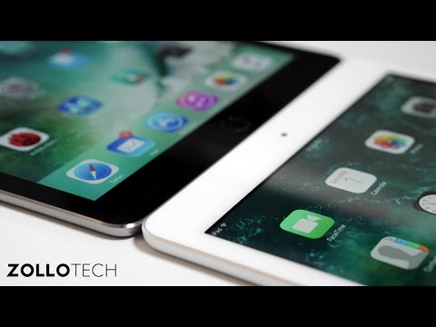 iPad (early 2017) vs iPad Air 2