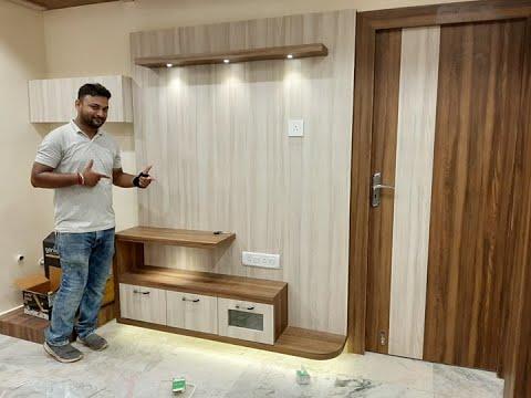 Small Tv cabinet for Living / Dining Room [Final] Interior Jagat