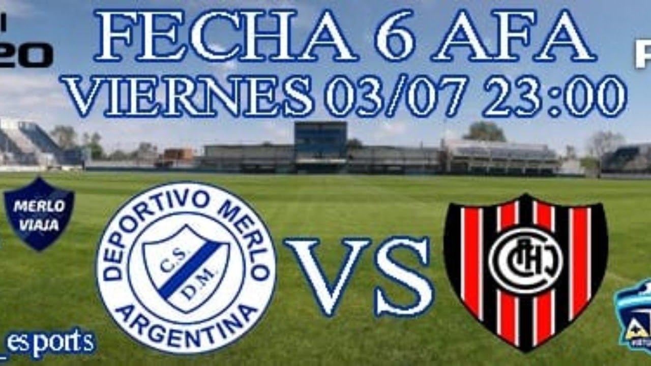 EN VIVO | Dep. Merlo vs Chacarita | eSports | AFA Liga Virtual | PES 2020