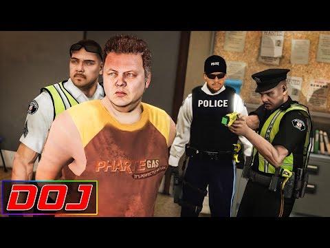 GTA 5 Roleplay - DOJ #104 - Forced to Smoke