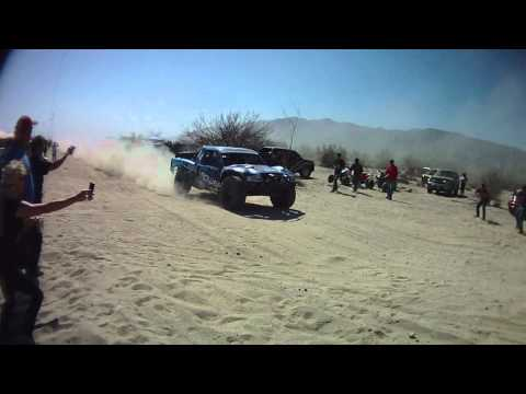 2012 Baja 250 Truck #34 with slow motion replay