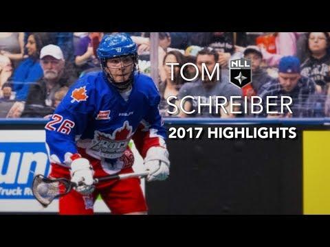Tom Schreiber 2017 NLL Highlights