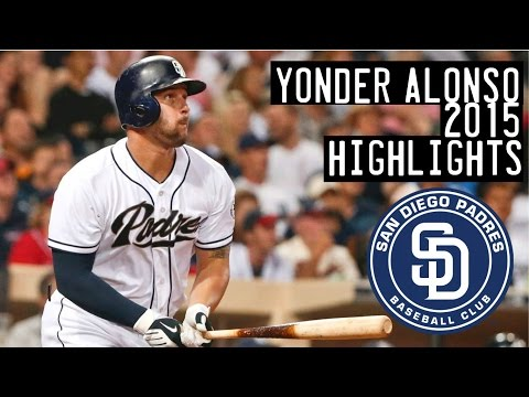 Yonder Alonso | 2015 Padres Highlights HD