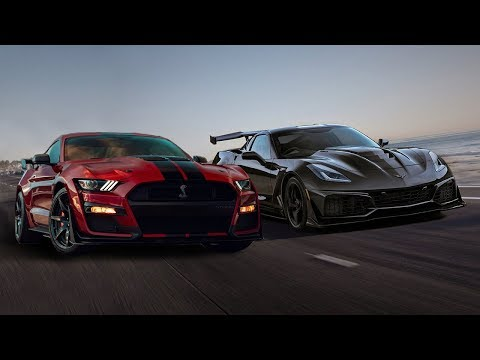2020 Ford Mustang Shelby GT500 vs 2019 Chevrolet Corvette ZR1