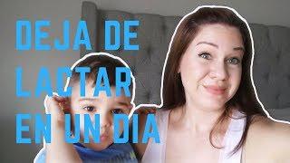 Como Dejo de Lactar Amamantar a mi Bebe  en un Dia | Consejos de Mama