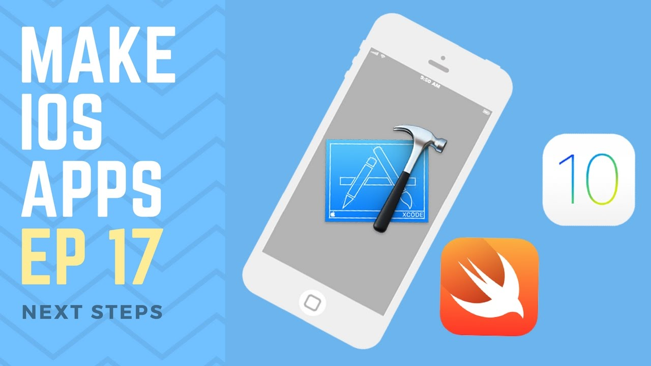 How To Make An Iphone App Ep 17 Where Next? (xcode 8, Swift