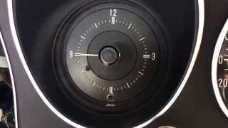 MS50クラウン 1G-FE VVT-iスワップ 時計をタコメーターに変造