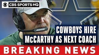 Cowboys hire Mike McCarthy after parting ways with Jason Garrett | Breaking News | CBS Sports HQ