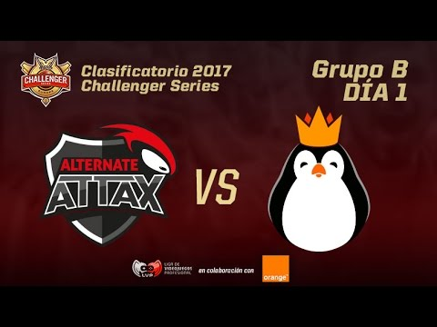 TORNEO CLASIFICATORIO CHALLENGER - ALTERNATE ATTAX VS TEAM KINGUIN