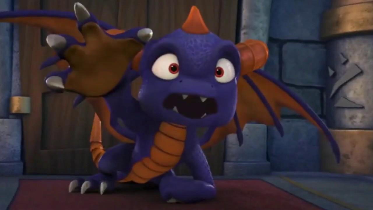 The Gallery For Dark Spyro Skylanders: Skylanders Academy Season 3