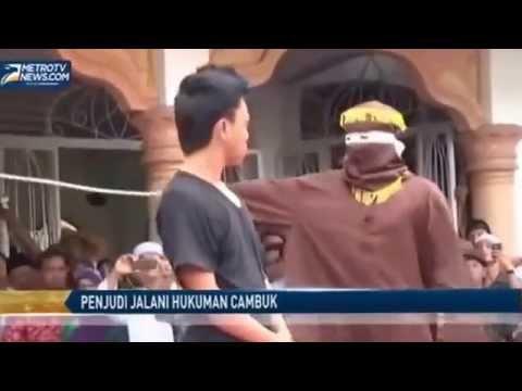 Penjudi Ini Melawan Algojo Hukum Syariah Aceh'LUCU'