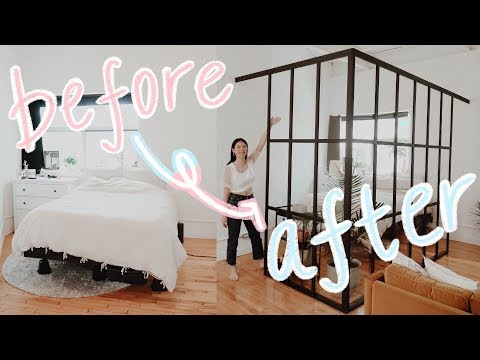 easy bedroom DIY ideas on a budget! (updating my loft) | WITHWENDY