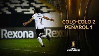 Colo-Colo vs. Peñarol [2-1] | RESUMEN | Fase de Grupos | Jornada 3 | CONMEBOL Libertadores 2020