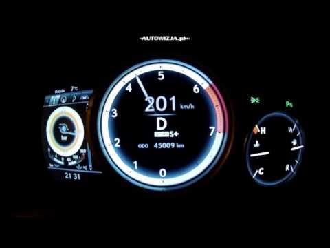 Lexus RX200t acceleration 0 100 km h, 0 200 km h, 0 400 m, top speed racelogic