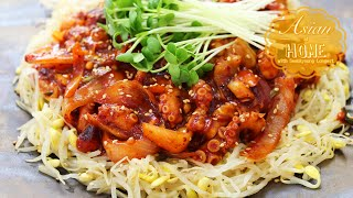 Nakji Bokkeum Recipe : Korean Spicy Stir-fry Octopus