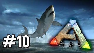 Ark Survival Evolved [EP.10] - ฉลามและความฮา!!